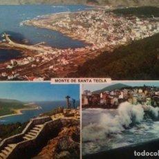 Postales: POSTAL DEL MONTE DE SANTA TECLA - LA GUARDIA - VIGO. Lote 83687512