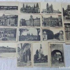 Postales: 15 ANTIGUAS POSTALES DE SANTIAGO. SIN CIRCULAR. EDITA HAE.. Lote 83712080