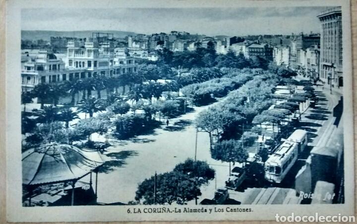 LA CORUÑA LA ALAMEDA Y LOS CANTONES (Postales - España - Galicia Moderna (desde 1940))