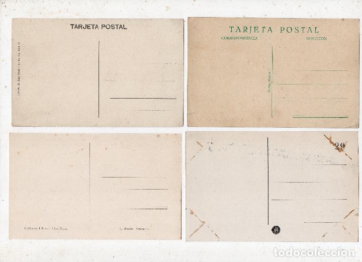 Postales: Lote de 4 postales antiguas Calles de La Coruña. - Foto 2 - 84335540