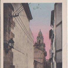 Postales: LA CORUÑA - IGLESIA DE SANTO DOMINGO - L. ROISIN FOT. BARCELONA. Lote 85230964