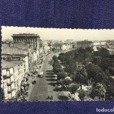 Postales: TARJETA POSTAL 5 LA CORUÑA AVENIDA DE LOS CANTONES CIRCULADA ED LUJO. Lote 85534916