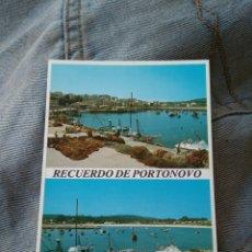 Postales: POSTAL PORTONOVO - PONTEVEDRA. Lote 85611100