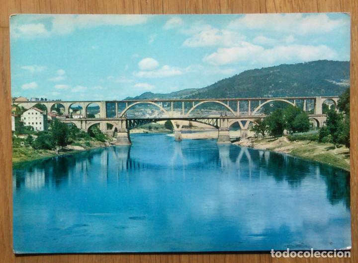 ORENSE - PUENTE SOBRE EL MIÑO (Postales - España - Galicia Moderna (desde 1940))