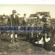 Postales: (PS-51887)POSTAL FOTOGRAFICA DE GALICIA-FEIRA.FOTO FERRER.. Lote 85739644