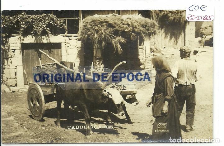 (PS-51865)POSTAL FOTOGRAFICA DE VERIN-CABREIROA.FOTO FERRER. (Postales - España - Galicia Antigua (hasta 1939))
