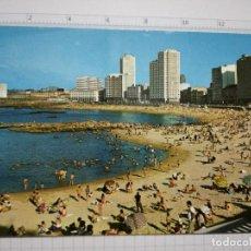 Postales: POSTAL Nº 126 - GALICIA - LA CORUÑA, PLAYA DE RIAZOR - ED. ARRIBAS 1973. Lote 86238600