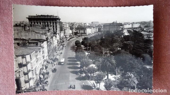 POSTAL LA CORUÑA - AVENIDA DE LOS CANTONES (Postales - España - Galicia Moderna (desde 1940))