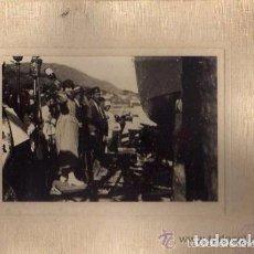 Postales: MUROS. MOMENTO DE LA BOTADURA DEL PAILEBOTE COMPOSTELANO II. CORUÑA. KSADO FOTOGRAFO. SANTIAGO .. Lote 87356332