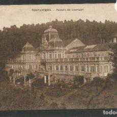 Postales: PONTEVEDRA - POSTAL - PALACIO DE LOURIZAN - EDICION VIÑAS -(47.376). Lote 89191060