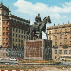 Postales: Nº 31616 POSTAL EL FERROL DEL CAUDILLO GALICIA ESTATUA DE FRANCO. Lote 89592356