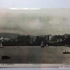 Postales: POSTAL FOTOGRAFICA - LA CORUÑA PUERTO - L. ROISIN FOTO - SIN CIRCULAR. Lote 89618488
