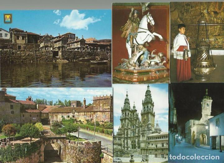 22 POSTALES GALICIA (Postales - España - Galicia Moderna (desde 1940))