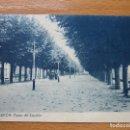 Postales: PADRON (LA CORUÑA) PASEO DEL ESPOLON, 2 EDICIION BAZAR BUELA, EDICIÓN THOMAS 448. Lote 90437644