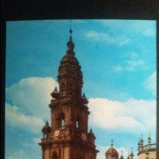 Postales: SANTIAGO DE COMPOSTELA - PLAZA DE LA QUINTANA - CATEDRAL. Lote 91516175