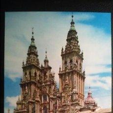 Postales: SANTIAGO DE COMPOSTELA - CATEDRAL FACHADA DEL OBRADOIRO. Lote 91516180