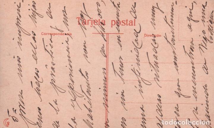 Postales: POSTAL VIGO ESTATUA MENDEZ NUÑEZ EN LAS JARDINES DE LA ALAMEDA P.MUNDI/GALI-007 - Foto 2 - 91680880