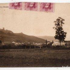 Postales: VERÍN Y MONTERREY. OURENSE. AÑO 1928. FRANQUEADA Y ESCRITA. . Lote 92239645