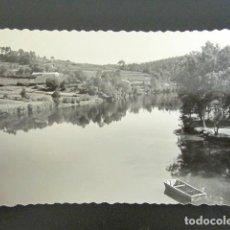 Postales: POSTAL PONTEVEDRA. PAISAJE DEL RÍO LEREZ. . Lote 94131835