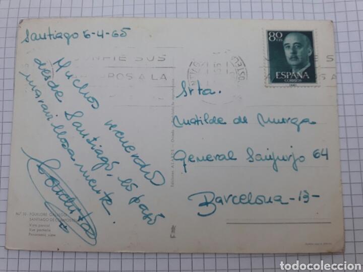 Postales: Antigua postal circulada Santiago 1965 - Foto 2 - 94340980