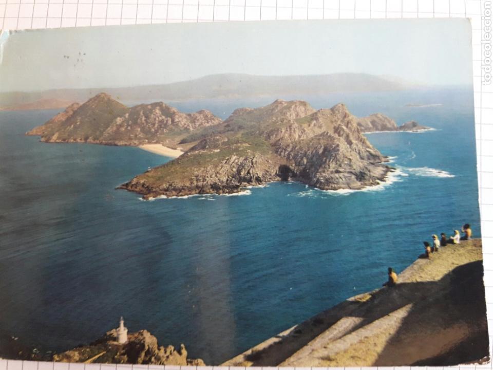 POSTAL CIRCULADA VIGO 1966 (Postales - España - Galicia Moderna (desde 1940))