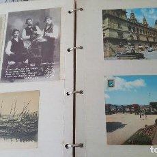 Postales: 199 POSTALES DE GALICIA. 2 ÁLBUMES GALICIA. COLECCIONISMO, POSTALES ANTIGUAS.. Lote 95348703