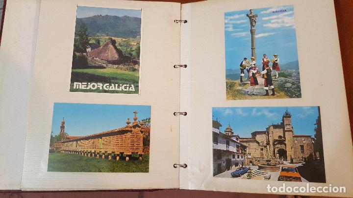 Postales: 199 postales de Galicia. 2 álbumes Galicia. Coleccionismo, postales antiguas. - Foto 3 - 95348703
