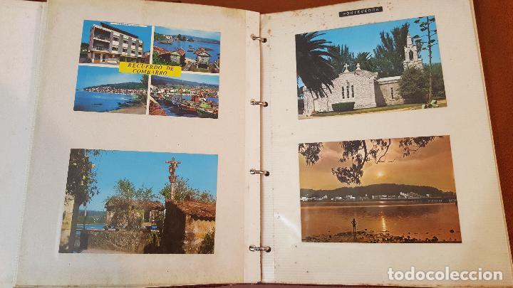 Postales: 199 postales de Galicia. 2 álbumes Galicia. Coleccionismo, postales antiguas. - Foto 4 - 95348703