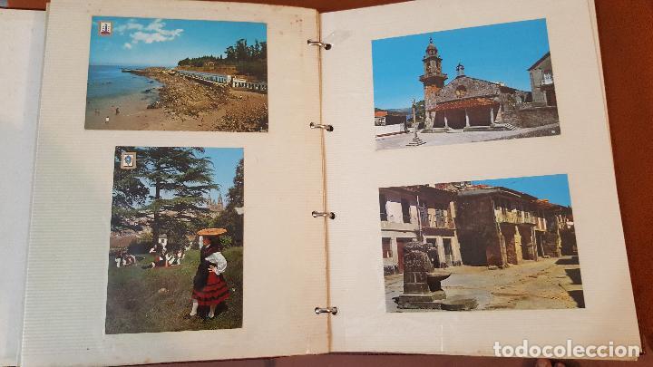 Postales: 199 postales de Galicia. 2 álbumes Galicia. Coleccionismo, postales antiguas. - Foto 5 - 95348703