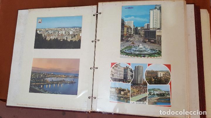 Postales: 199 postales de Galicia. 2 álbumes Galicia. Coleccionismo, postales antiguas. - Foto 7 - 95348703