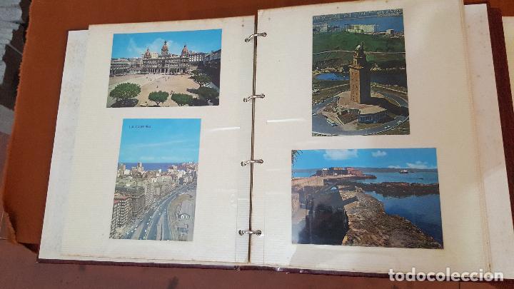 Postales: 199 postales de Galicia. 2 álbumes Galicia. Coleccionismo, postales antiguas. - Foto 8 - 95348703