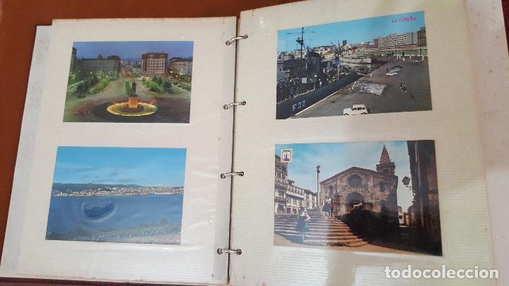 Postales: 199 postales de Galicia. 2 álbumes Galicia. Coleccionismo, postales antiguas. - Foto 9 - 95348703