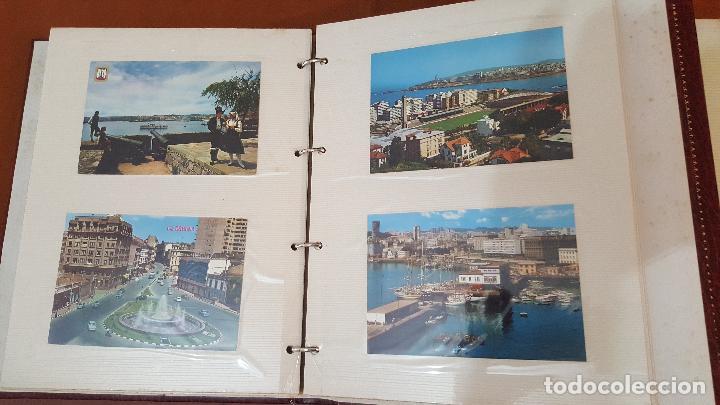 Postales: 199 postales de Galicia. 2 álbumes Galicia. Coleccionismo, postales antiguas. - Foto 10 - 95348703
