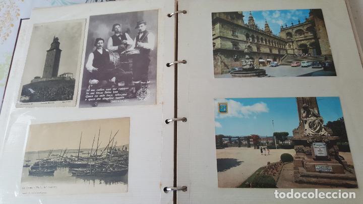 Postales: 199 postales de Galicia. 2 álbumes Galicia. Coleccionismo, postales antiguas. - Foto 12 - 95348703
