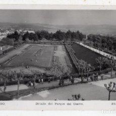 Postales: VIGO. DETALLE DEL PARQUE DEL CASTRO. ESCRITA EN EL AÑO 1952.. Lote 95696183