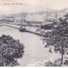 Postales: LA CORUÑA - DARSENA DEL PARROTE - ED. PAPELERIA DE LA FUENTE. Lote 96024951