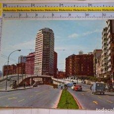 Postales: POSTAL DE LA CORUÑA. AÑO 1972. AVENIDA DEL GENERALÍSIMO. GUARDIA URBANO POLICÍA. 605. Lote 96026275