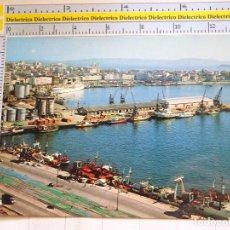 Postales: POSTAL DE LA CORUÑA. AÑO 1976. VISTA PARCIAL DEL PUERTO. 608. Lote 96026451