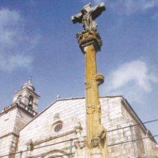 Postales: POSTAL IGLESIA DE CARRIL. VILAGARCIA DE AROSA. PONTEVEDRA. Lote 96040619