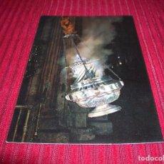 Postales: POSTAL SANTIAGO DE COMPOSTELA.CATEDRAL .EL BOTAFUMEIRO.. Lote 96091603