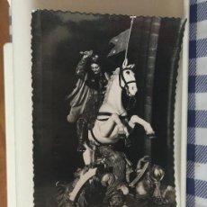 Postales: POSTAL SANTIAGO DE COMPOSTELA. CATEDRAL IMAGEN PROCESIONAL DEL APÓSTOL SANTIAGO. ESCRITA 1954.. Lote 96177303