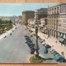 Postales: LA CORUÑA - AVENIDA DE LOS CANTONES. Lote 96649483
