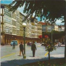 Postales: LA CORUÑA .- AVENIDA DE LA MARINA .- EDICIONES ARRIBAS Nº 2009. Lote 96668063