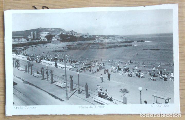 LA CORUÑA - PLAZA DE RIAZOR (Postales - España - Galicia Moderna (desde 1940))