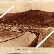 Postales: PRECIOSA POSTAL DOBLE - VIVERO (LUGO) - VISTA GENERAL . Lote 96792055
