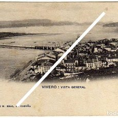 Postales: PRECIOSA POSTAL - VIVERO (LUGO) - VISTA GENERAL. Lote 96792983