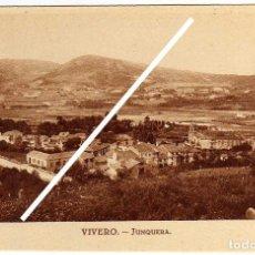 Postales: PRECIOSA POSTAL - VIVERO (LUGO) - JUNQUERA. Lote 96794563