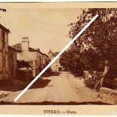 Postales: BONITA POSTAL - VIVERO (LUGO) - OROL. Lote 96795647