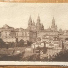 Postales: SANTIAGO DE COMPOSTELA - VISTA PARCIAL. Lote 97024923