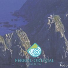 Postales: POSTAL OS AGUILLONS. CABO ORTEGAL. CARIÑO. A CORUÑA. FERROL - ORTEGAL. Lote 97332667